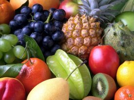 Fruits helps to reduce the chances of heart attack by 40 percent